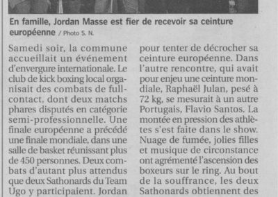 pressedir_Team UGO - 2010.05__Article journal 08 mai Championnat du monde