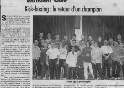 pressedir_Team UGO - Saison 2000-2001