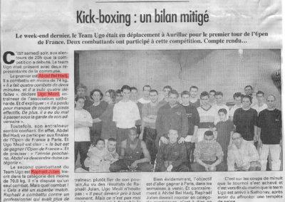 pressedir_Team UGO - Saison 2001-2002 (1 )