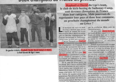 pressedir_Team UGO - Saison 2002-2003 (2)