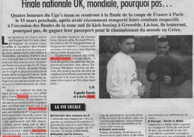 pressedir_Team UGO - Saison 2002-2003
