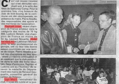 pressedir_Team UGO - Saison1999-2000 (2)