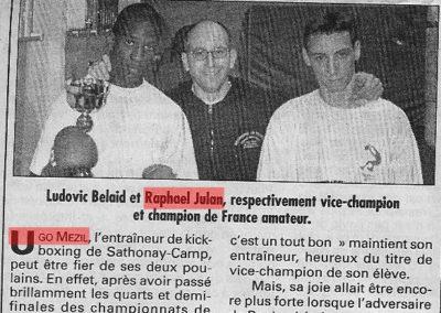 pressedir_Team UGO - Saison1999-2000